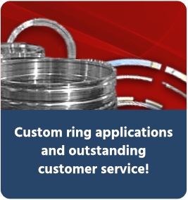 Custom ring applications and outstanding customer service!